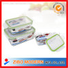 Heat-Resistance Glass Crisper with Lid