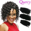 Hot Selling Synthetic Afro Kinky Hair Extensions Human Hair Extension Light Deep Wave Passion Hair Weave/Weft Extension