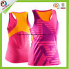 Wholesale Sublimation Quick Dry Fitness Camo Gym Singlets for Women