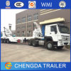3axles 20FT40FT Self Loading Side Lifting Container Truck Trailer Sales