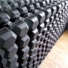 Rubber Hex Dumbbell Made in China