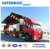 40FT Side Open Cargo Transport Semi Truck Trailer From China