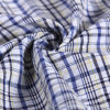 Yarn-Dyed Bubble Polyester Cotton Ribstop Fabric for Trousers