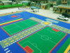 Futsal and Soccer Assembly PP Interlock Flooring Court