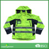 Safety Waterproof Breathable Reflective Jacket