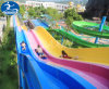 Colourful Rainbow Waving Slide for Water Park