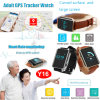 Personal Elderly Waterproof GPS Tracker with Real-Time Heart Rate Monitor Y16