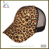 Design Your Own Hat Digital Printing Leopard Trucker Cap Hat