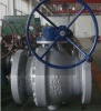304 2PC Flange 600lb Trunnion Mounted Stainless Steel Ball Valve