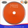 Granite Cutting Blade 180mm Diamond Turbo Wave Saw Blade for Granite