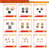 Wholesale High Quality Handbag Screws and Leather Rivets
