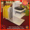 Wooden Clothes Display Rack with Holder
