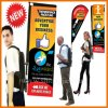 Cheap Advertising Backpack Signs (TJ_03)