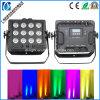 12*18W LED Battery Wireless DMX PAR Light Highly Waterproof Outdoor Lighting (EL-W2012)