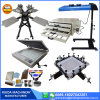 4 Color 4 Stations Manual Screen Printer Silk Screen Printing Machine with Micro-Registration