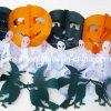 Hoeycomb Tissue Paper Garland Halloween Decoration