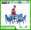 Nursery Furniture Wood Blue Children Table (SF-01C)