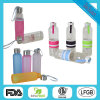 350ml Personalized Narrow Mouth Glass Water Bottles for Water Dx-108