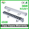 Outdoor Quality 36W AC85-265V Single Color Wall Washer Light LED