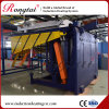 1.5ton Medium Frequency electric Crucible Induction Furnace for Iron
