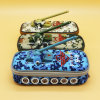 Boy Large Capacity Camouflage Tank Design Pencil Bag Cases Oxford Fabric Pencil Pouch Pen Sack School Kids Gifts Prizes