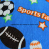 Sports Printing Polar Fleece with Two Sides Brush