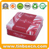 Square Food Tin Boxes Packaging, Biscuit Tin Cans, Cookie Tins