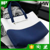 Colourful Neoprene Women Handbag, Perforated Neoprene Handbag.