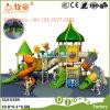 Kids Play Set Outdoor Playground Equipment Plastic Slides (WOP-046B)