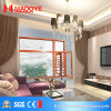 Wooden Colour Aluminum Profile Window with Chinese Top Brand Hardware