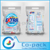 Plastic Printing Bag with Handles for Washing Powder Packaging