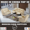 Spain Modern Leather Recliner Sofa (Lz6005b)