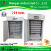 CE Certified Automatic Quail Egg Incubators for Sale (KP-10)