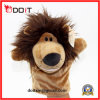 Realistic Plush Toys Wild Animal Lion Hand Puppet