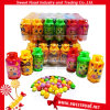 Confectionery Halal Sweet Gas Bottle Colorful Sour Ball Candy Gas Tank Toy Candy with Fruit Flavor Sour Candy in Bottle