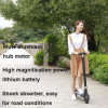 Two Wheel Lithium Battery Electric Mini Foldable Scooter