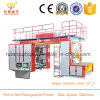 Plastic Film Flexo Cmyk Full Color Printing Machine