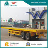 2-Axle Flat Bed Container Semi Trailer