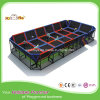 High Quality 2017 Cheap ISO Colorful Kids Indoor Rectangular Trampoline