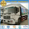 Dongfeng 6 Wheels LHD Rhd Customized 10 Tons Refuse Compress Garbage Truck