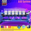 10 Years Service Guarantee China Factory Price 2019 Computerized Technical Type 6 Head Embroidery Machine with A18 System 4 Main Warehouse