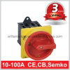 16A 4p DIN Rear Mounted Emergency off Switch