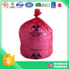 Plastic Heavy Duty Red Biohazard Bag for Hospital