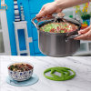 Pan Pot Holders Heat Resistant Non-Slip Silicone Hot Dish Trivet for Kitchen Dining Table