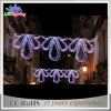 Outdoor Motif Christmas Decoration Commercial LED Street Lights