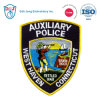 Embroidery Police Patch- Customized Embroidery Patch- Auxiliary Police