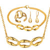 Wholesale Gold Necklace Earring Ring Bracelet Gold Jewelry
