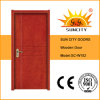 Suncity Carved Flat Panel Plywood Wooden Doors for Home (SC-W102)