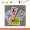 Warning Sign Precaution Label Printing Paper/Pet Adhesive Printed Sticker
