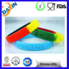 Cheap Debossed Embossed Printed Customized Silicone Bracelet